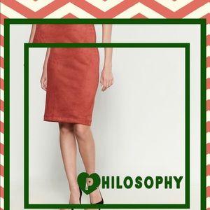 BNWT Philosophy pencil skirt